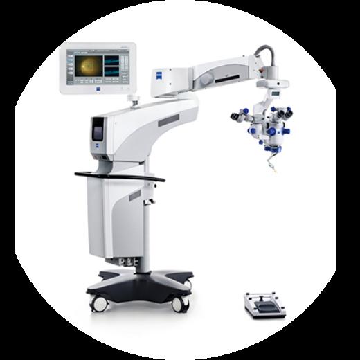 術中光干渉断層計手術顕微鏡 RESCAN700