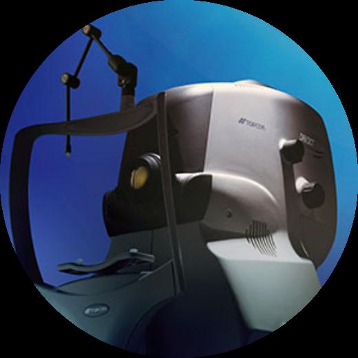 3次元眼底撮影装置(OCT) Triton