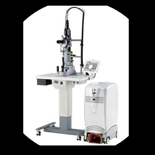 マルチカラースキャンレーザ 光凝固装置 MC-500 Vixi